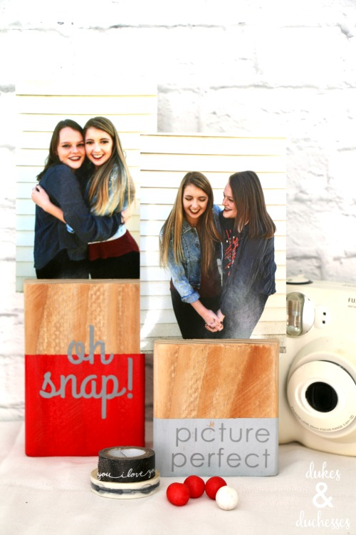 scrap wood photo blocks