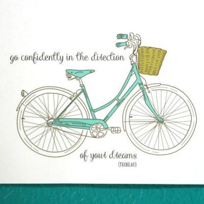 Thoreau Bicycle Printable