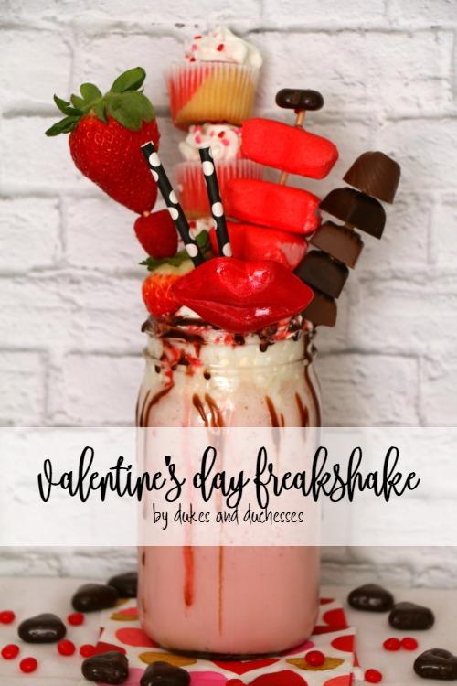 valentine's day freakshake