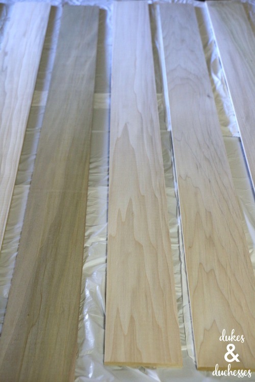 wood planks for wall art