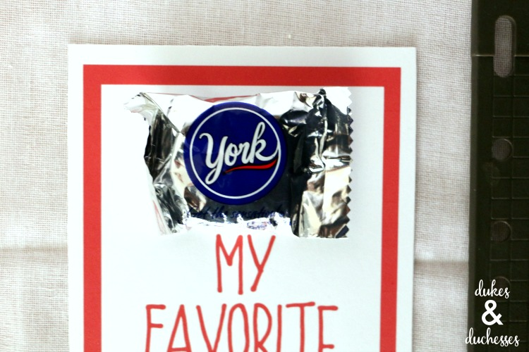 york my favorite valentine printable