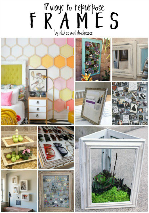 17 ways to repurpose frames