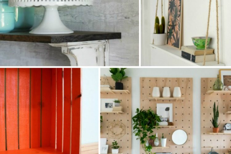 10 DIY Shelf Ideas for the Home