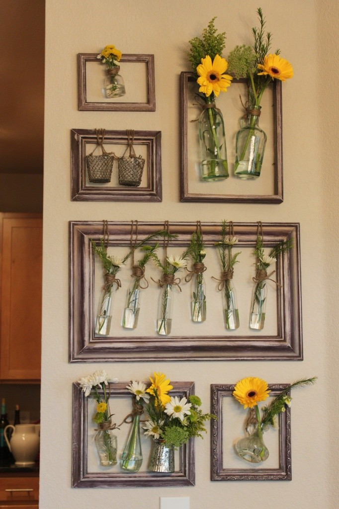 vase wall display