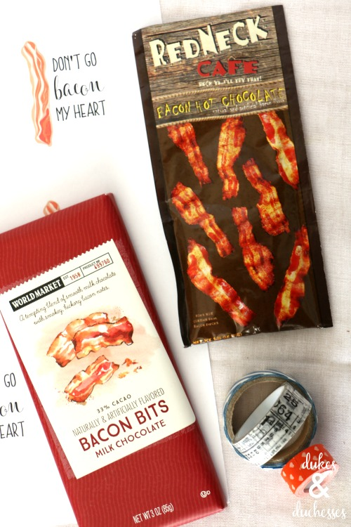 bacon valentine for guys