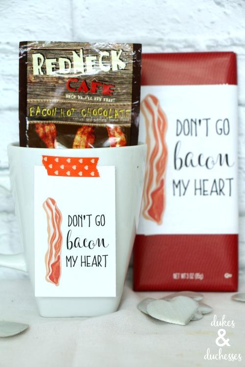 bacon valentine