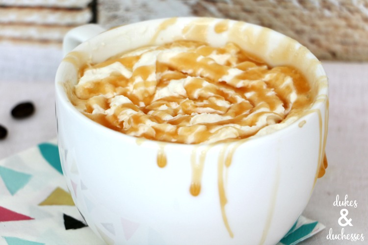 caramel hazelnut macchiato coffee recipe
