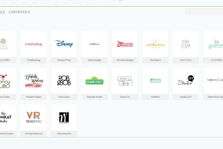 cricut brands online