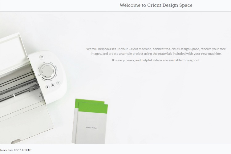 cricut set up online