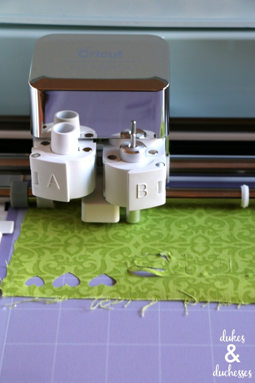 cutting fabric with cricut explore air 2