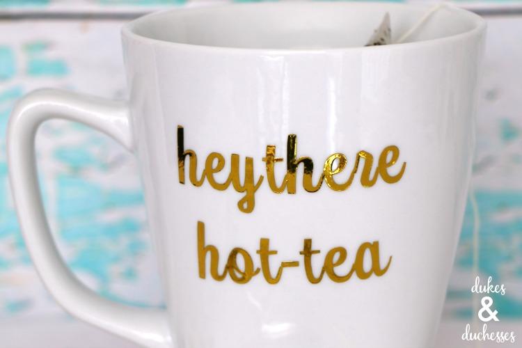 hot-tea personalized mug