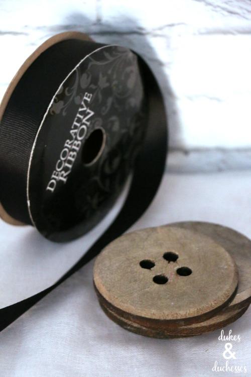 supplies for button trivet