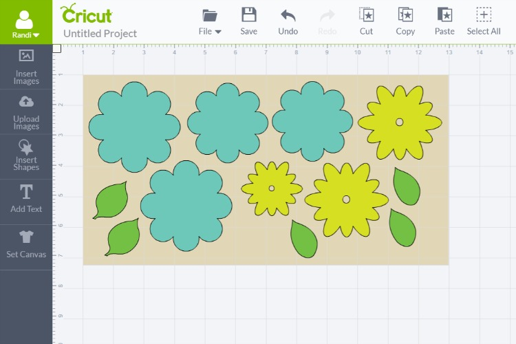 syncing layers with cricut
