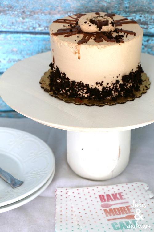 upcycled DIY cake stand