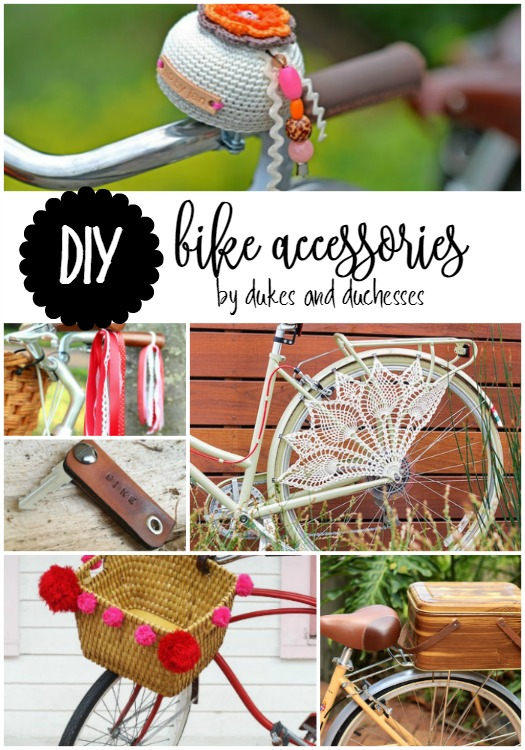DIY bike accessories
