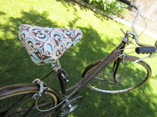 easy DIY bike seat cover