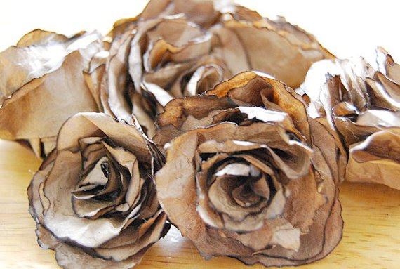 brown bag roses