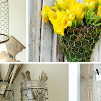 10 Ways to Use Chicken Wire