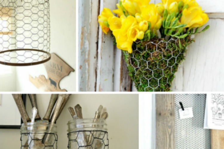 10 Ways to Use Chicken Wire - Dukes and Duchesses