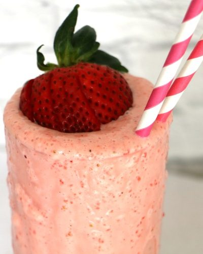 Frosted Strawberry Lemonade