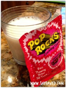 pop rocks milk