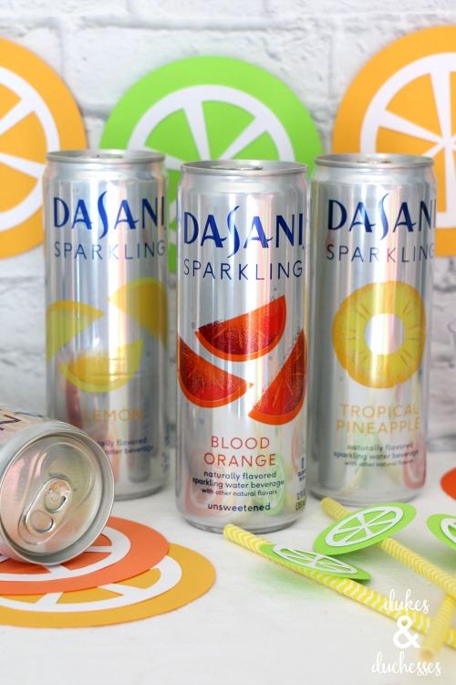 dasani sparkling water flavors