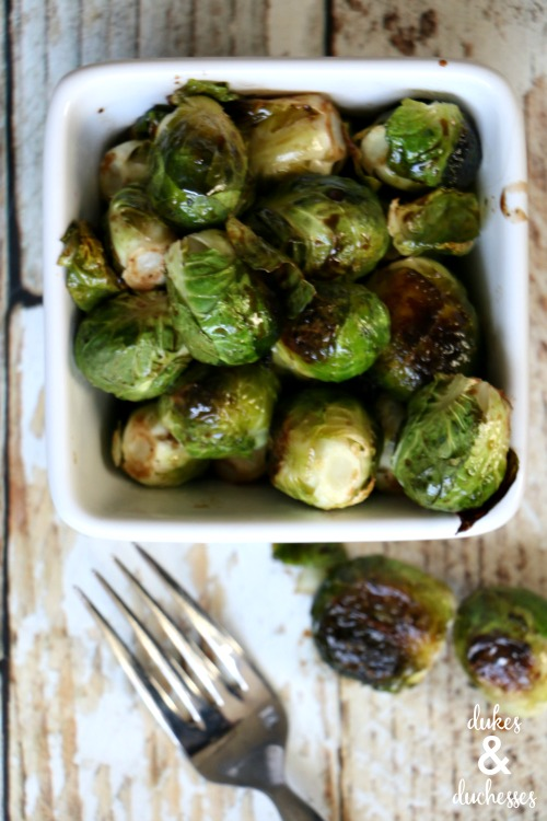 glazed brussels sprouts recipe