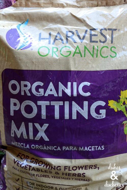 harvest organics organic potting mix