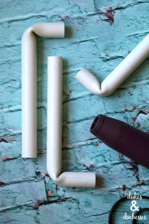how to bend pvc pipe tutorial
