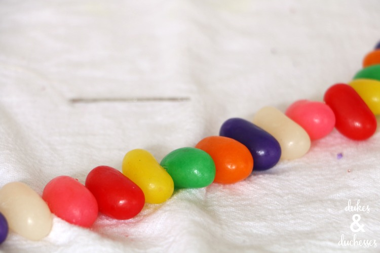 jelly bean garland for easter