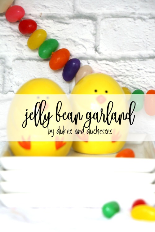 jelly bean garland