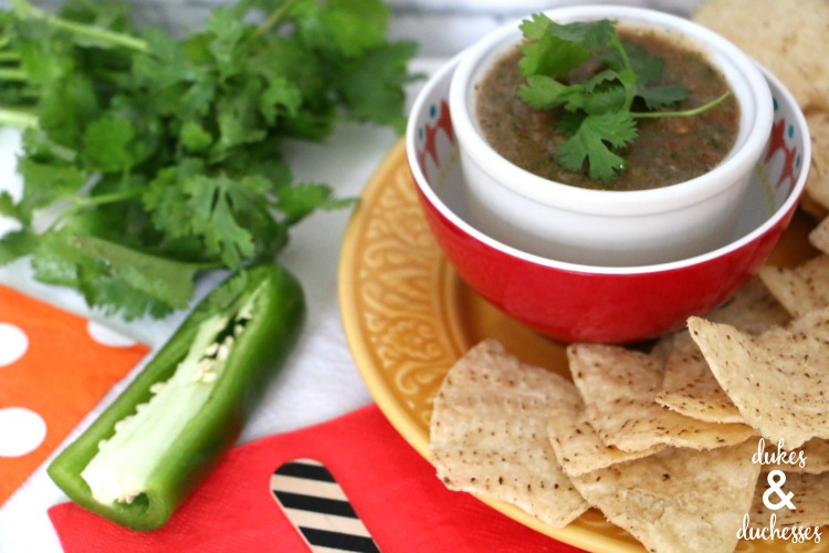 blender salsa recipe