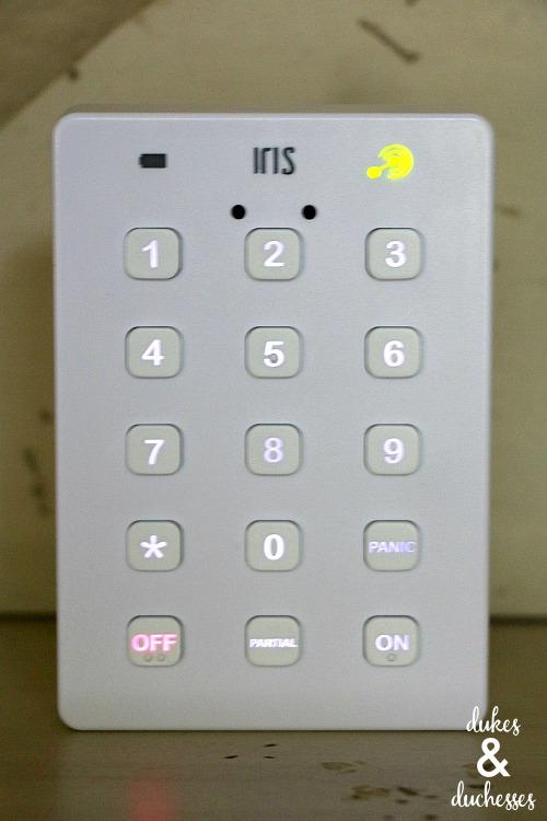 iris security pad