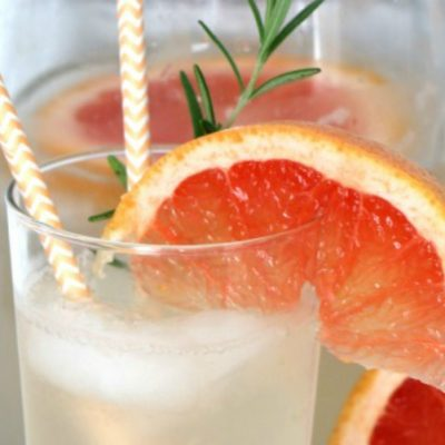 Rosemary Grapefruit Spritzer