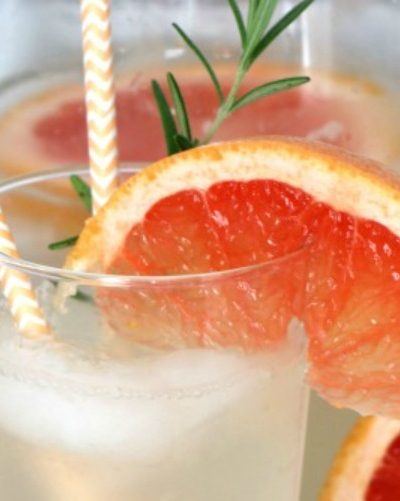Rosemary Grapefruit Spritzer