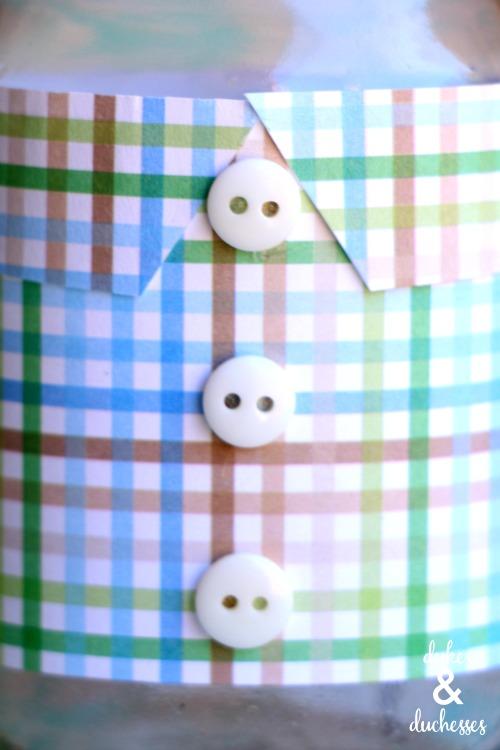shirt mason jar for father's day