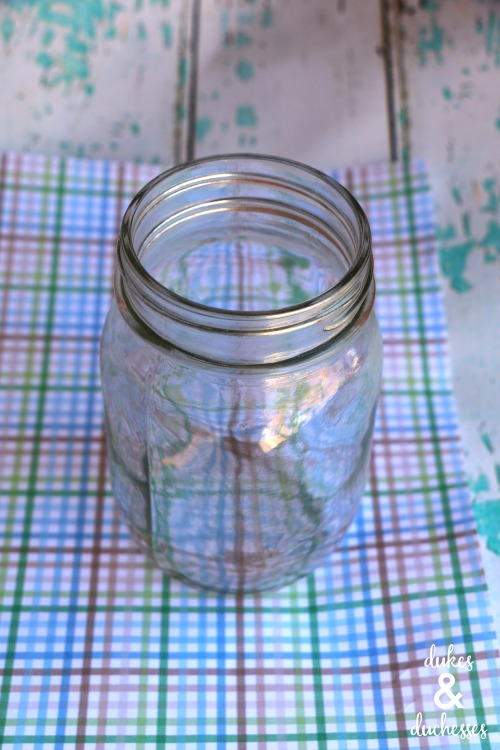 supplies for father's day mason jar