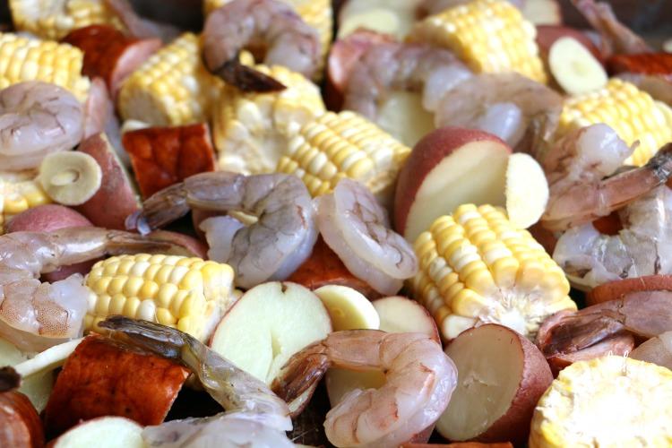 easy oven baked shrimp boil recipe
