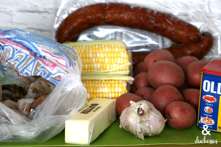 oven baked shrimp boil ingredients