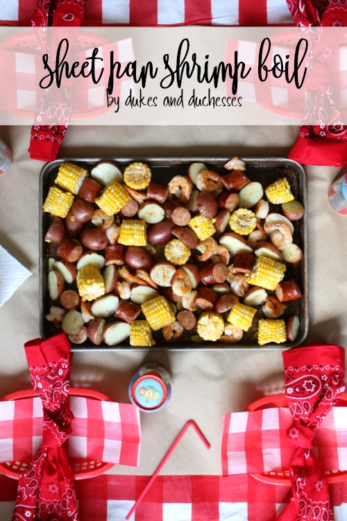 sheet pan shrimp boil