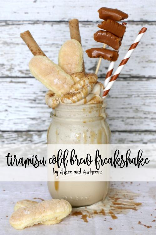 tiramisu cold brew freakshake
