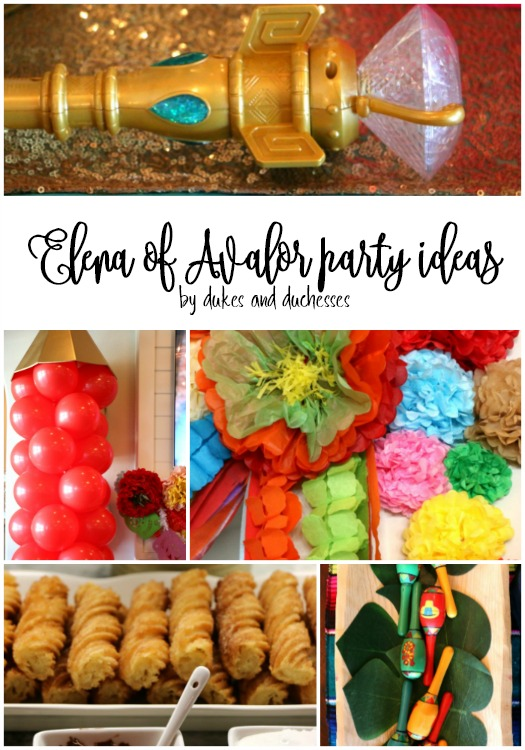 disney junior elena of avalor party ideas