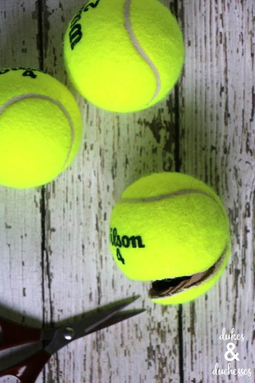 how to make headband from a tennis ball