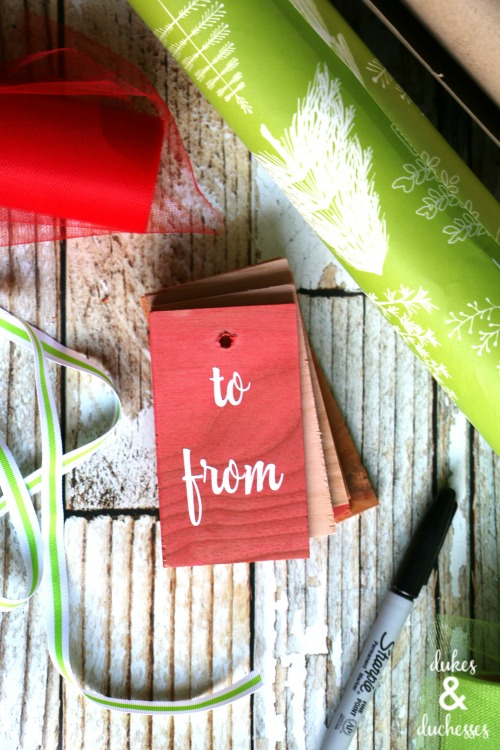 koolaid stained gift tags