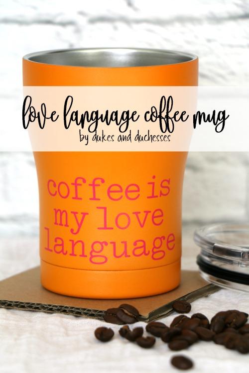love language coffee mug