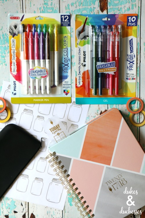 planner addict supplies