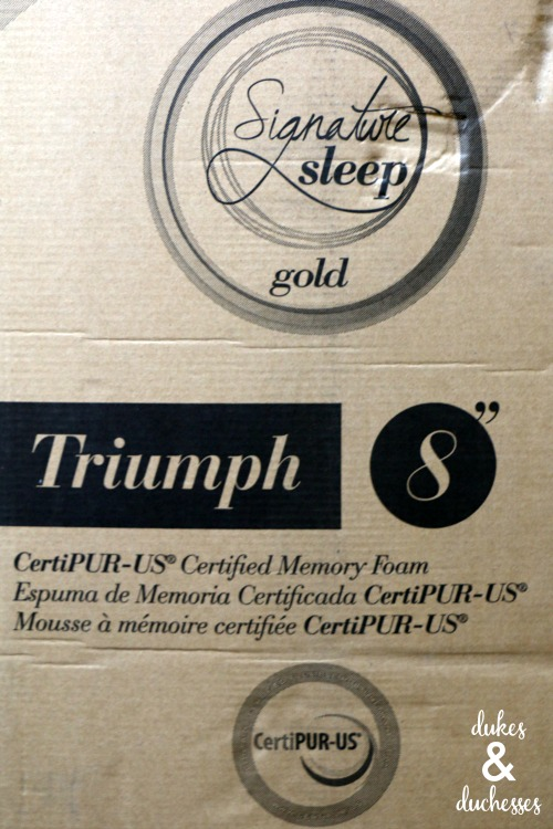 signature sleep gold mattress