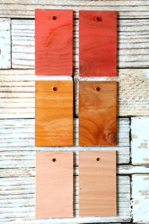staining wood with koolaid