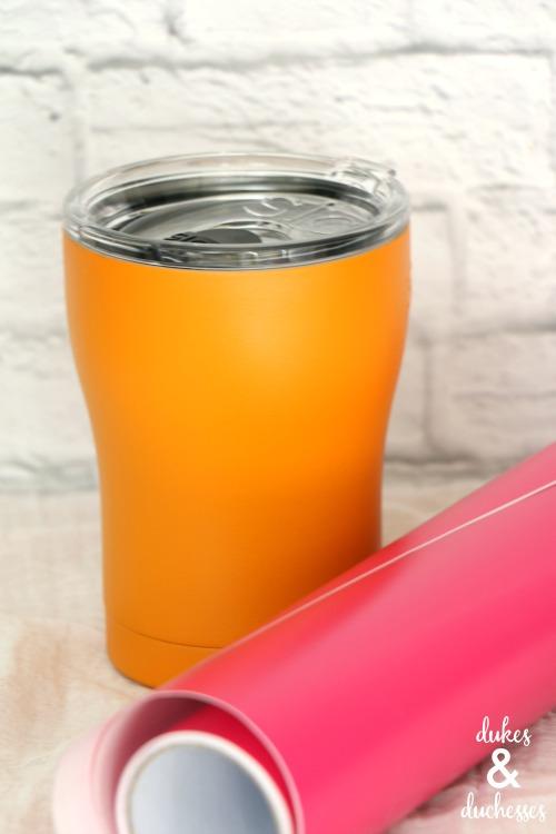 supplies to make mug with cricut