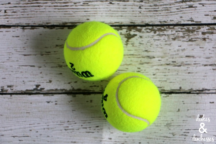 tennis balls for repurposing